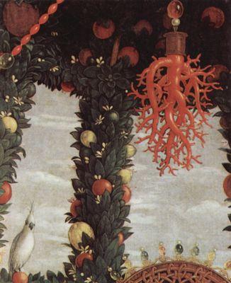 Andrea Mantegna - Madonna della Vittoria mit Hl. Johannes