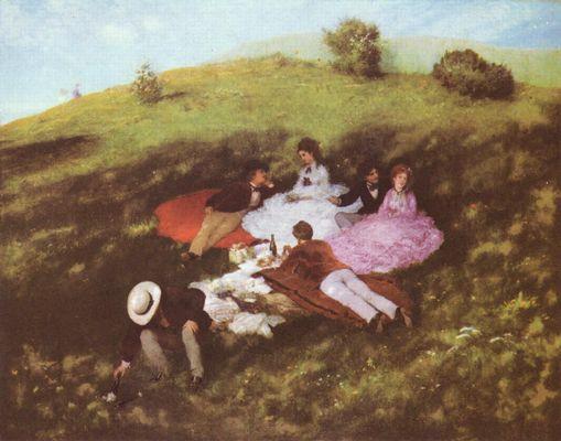 Pal Szinei-Merse: Picknick