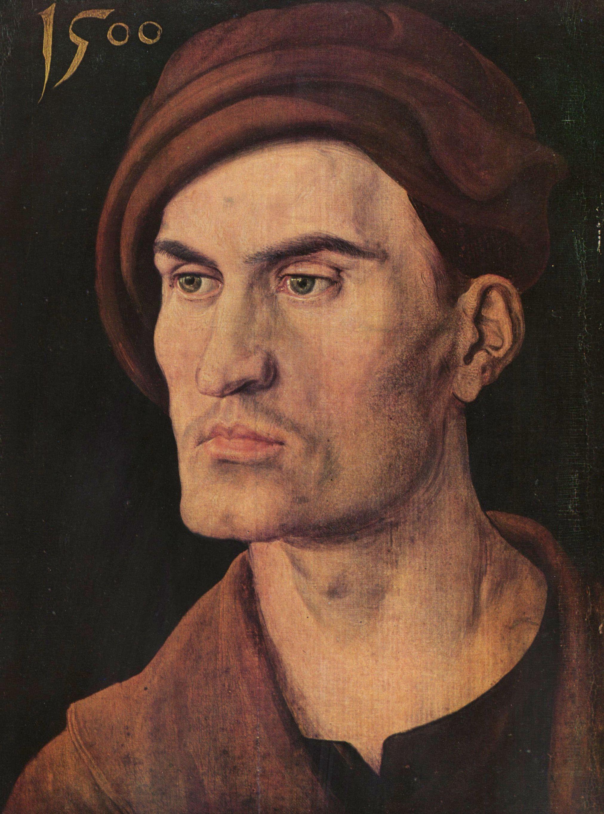 Großbild: Albrecht Dürer: Porträt eines jungen Mannes