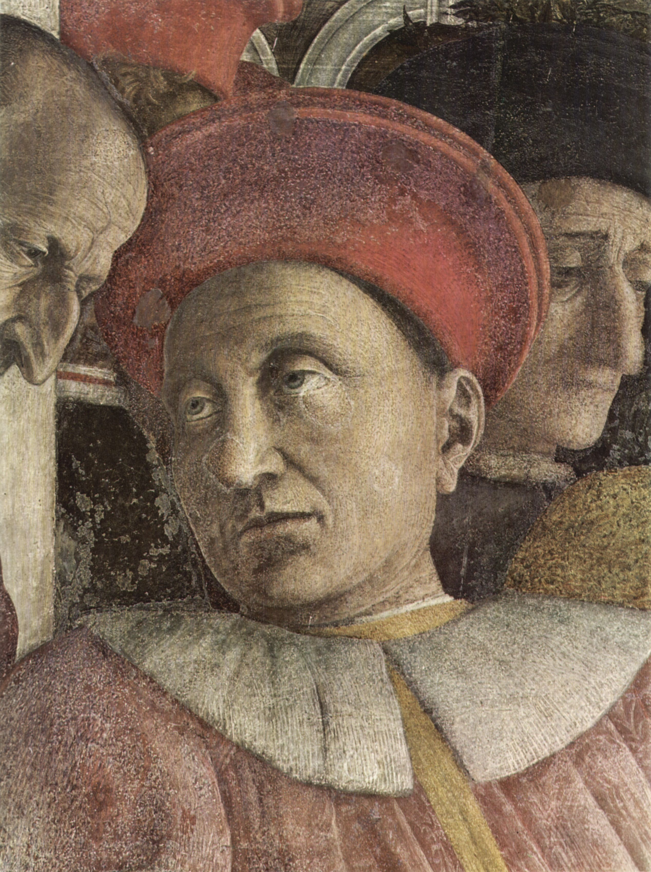 Großbild: Andrea Mantegna: Freskenzyklus in der Camera degli Sposi im Palazzo Duccale in Mantua ...
