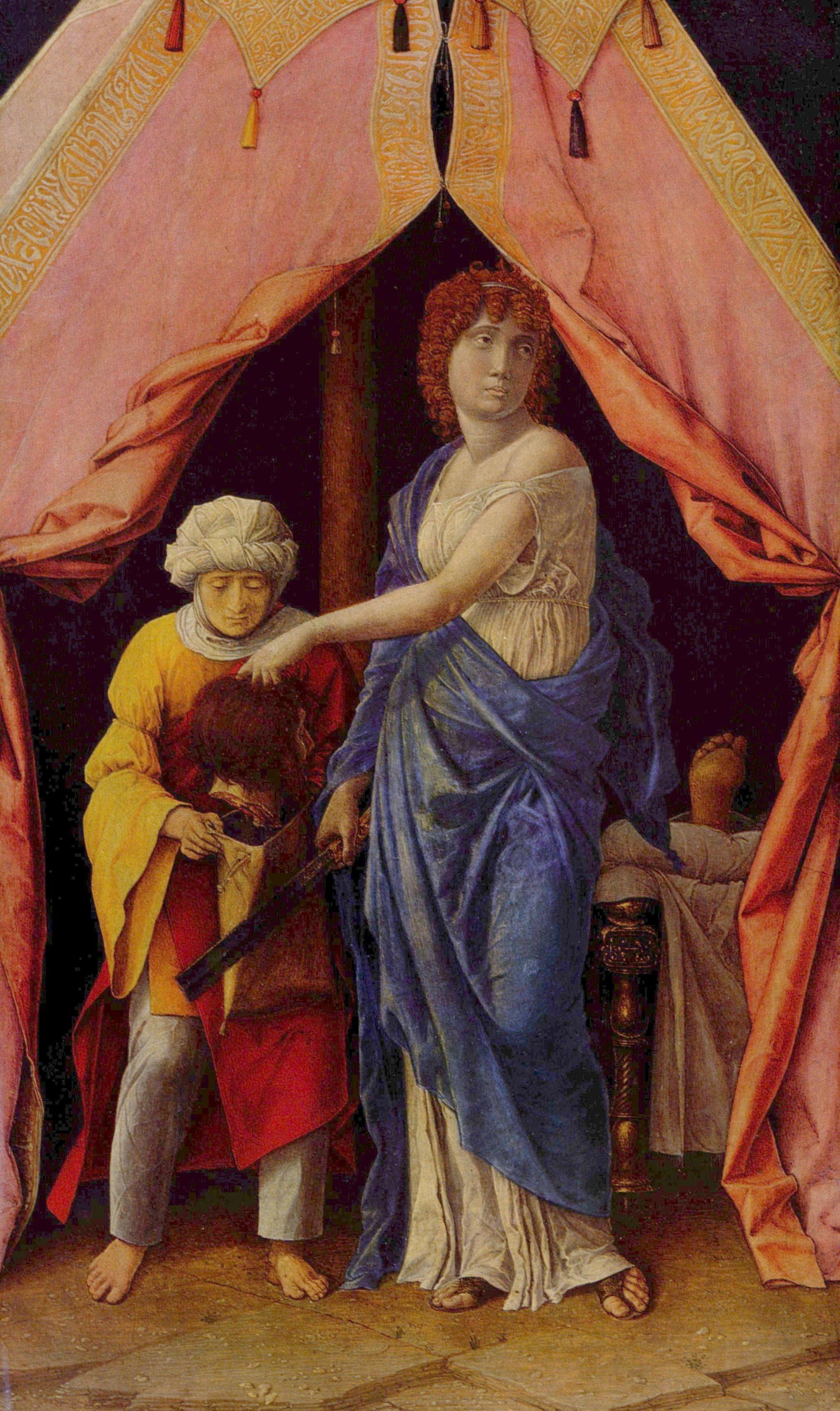 Großbild: Andrea Mantegna: Judith und Holofernes
