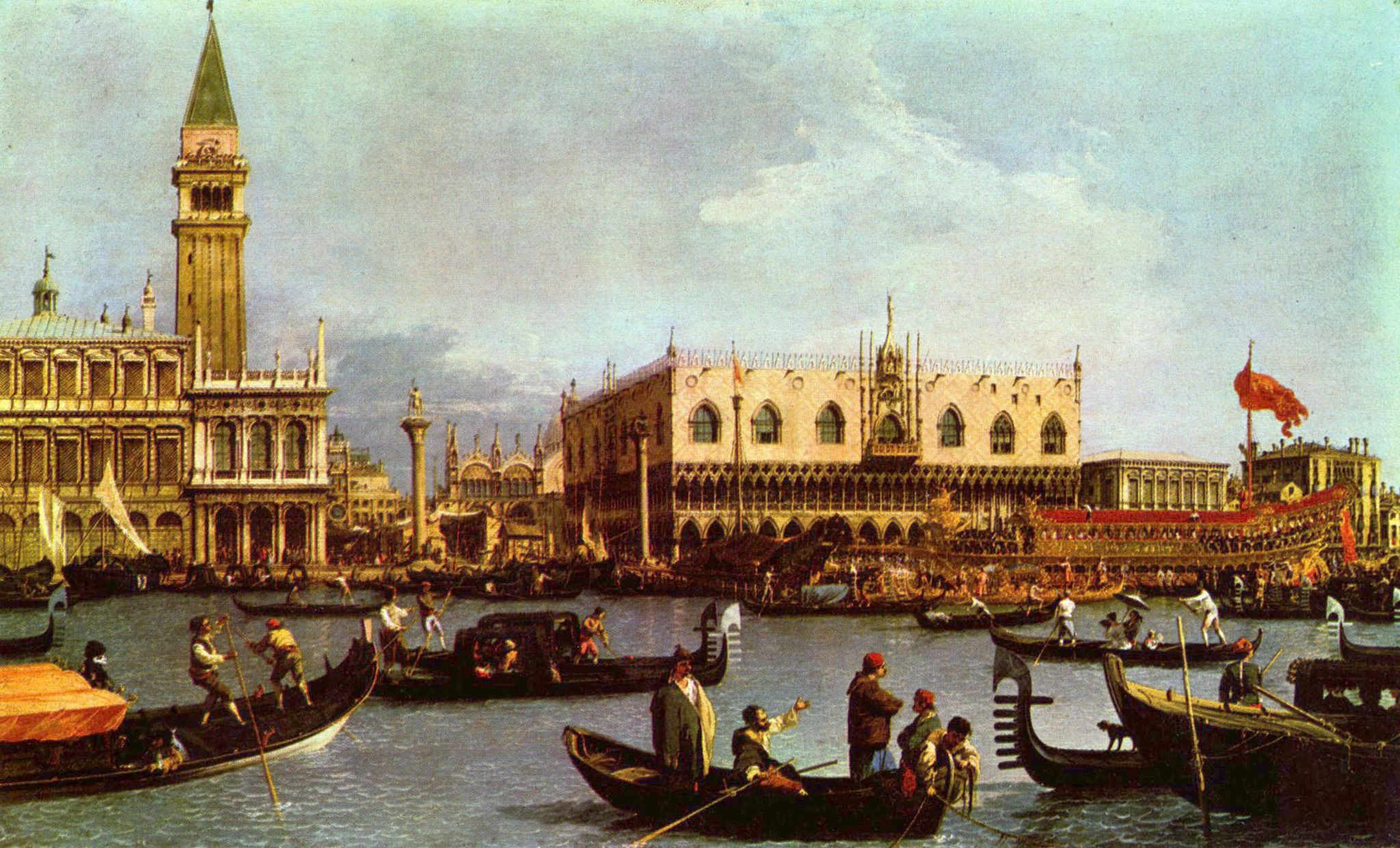 Canaletto S Paintings