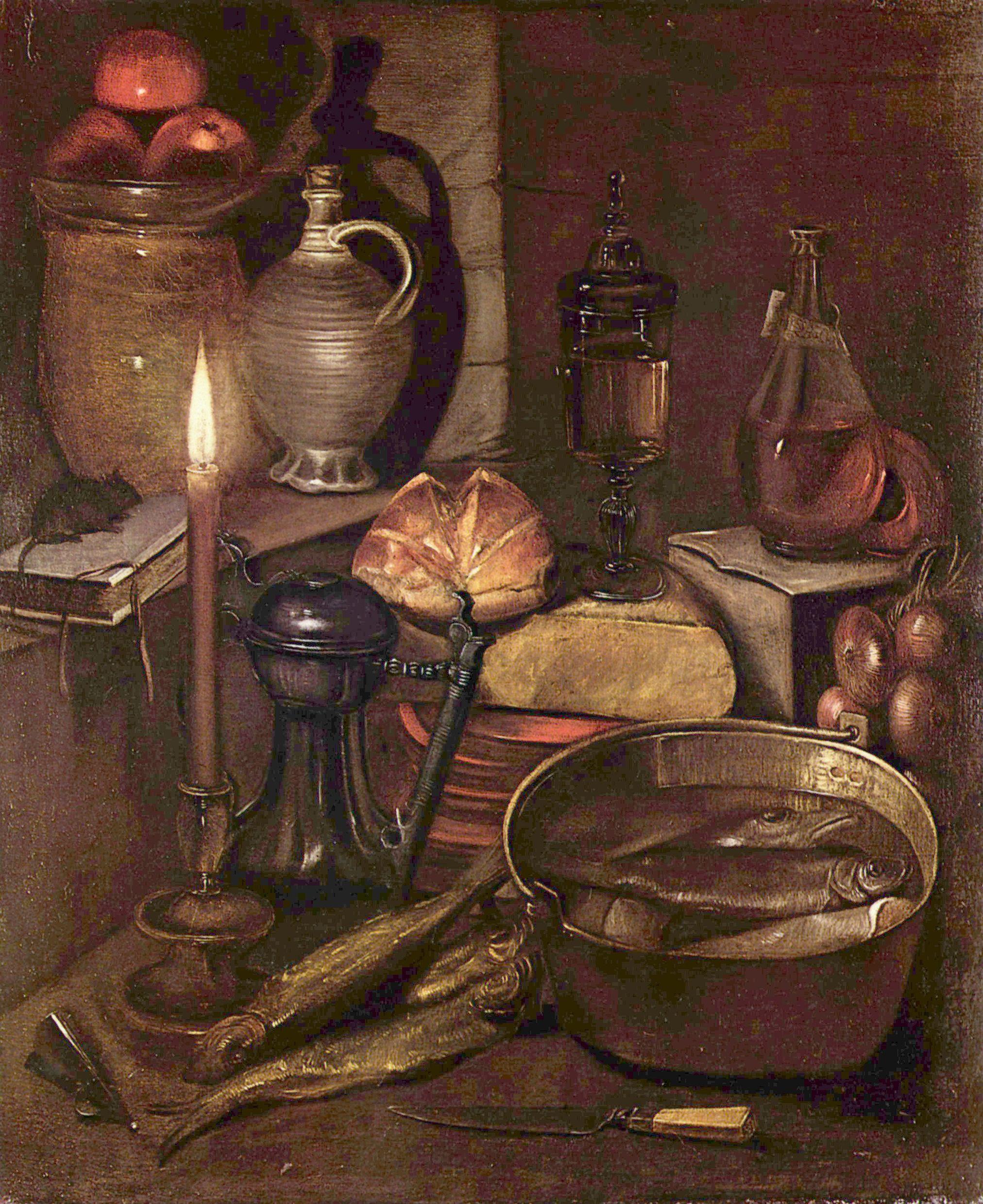 German Oil Paintings On Canvas