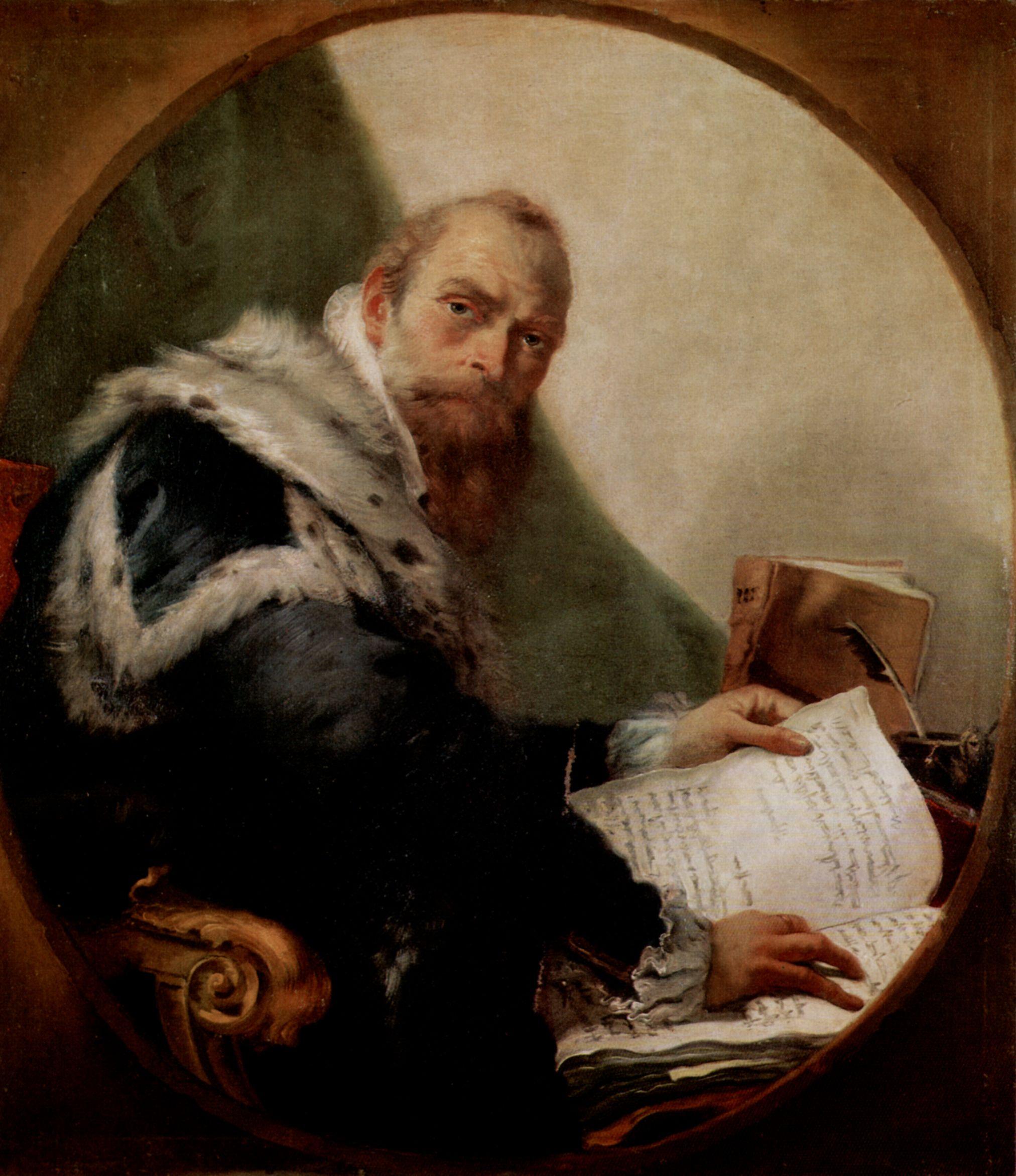 Großbild: Giovanni Battista Tiepolo: Porträt des Antonio ...