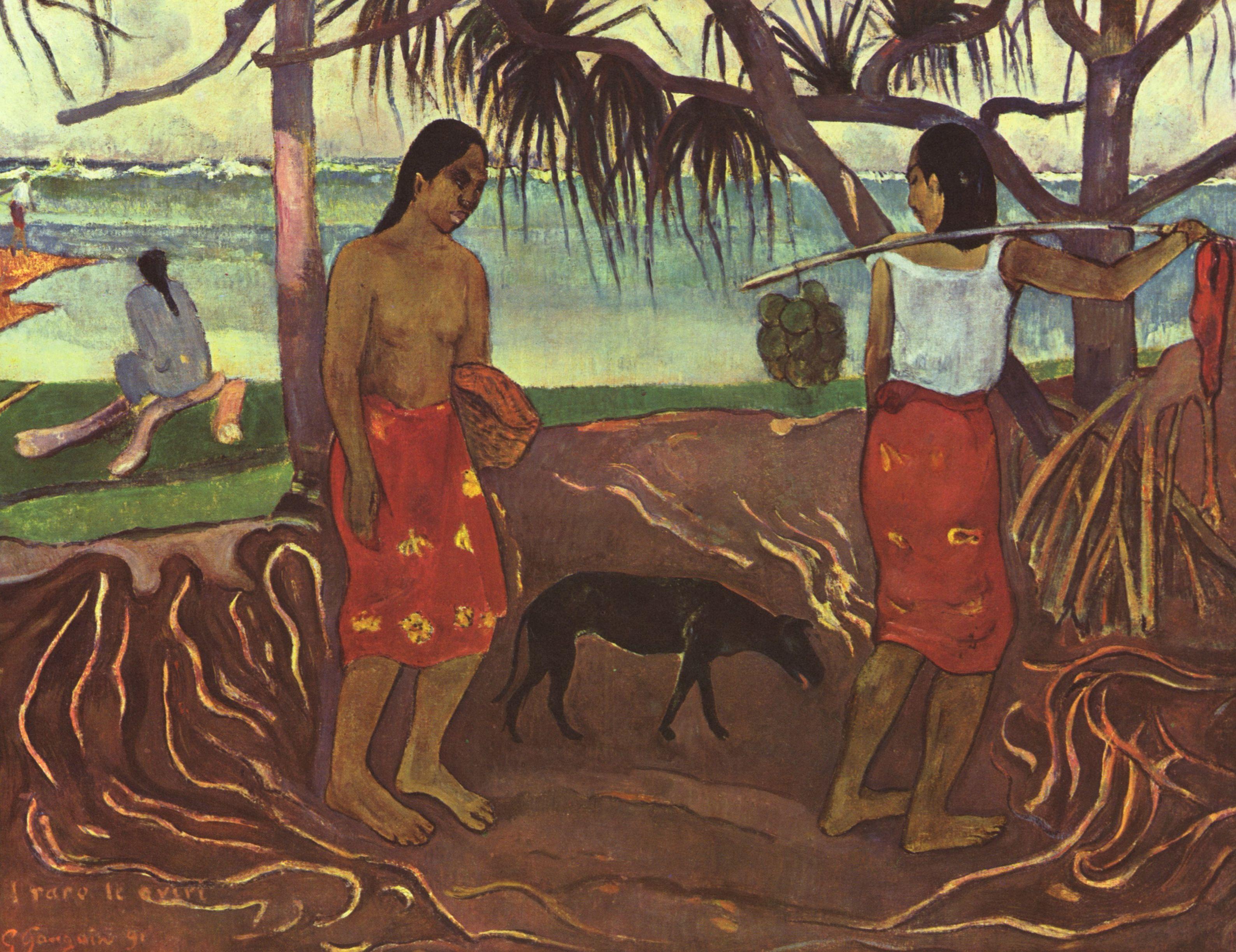 Gauguin Oviri Großbild: Paul Ga...