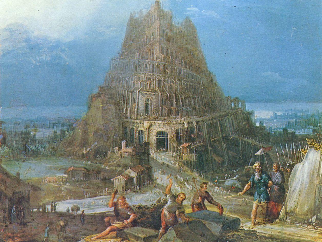 Großbild: Pieter Bruegel d. Ä.: Turmbau zu Babel