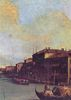 Canaletto (II): Canal Grande, Detail